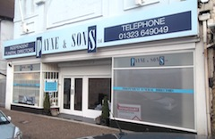 Image of Payne & Sons Funeral Directors, 143 Seaside, Eastbourne.
